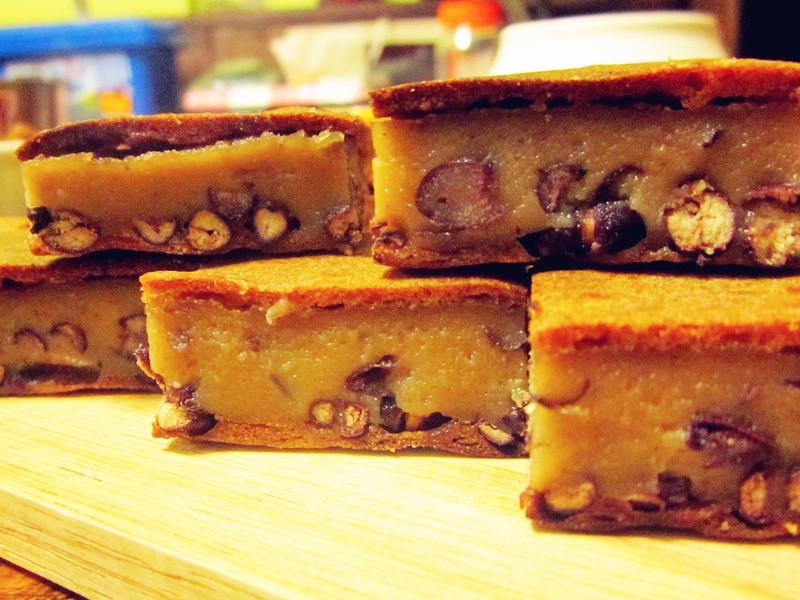 低脂紅豆黑糖年糕~用烤的