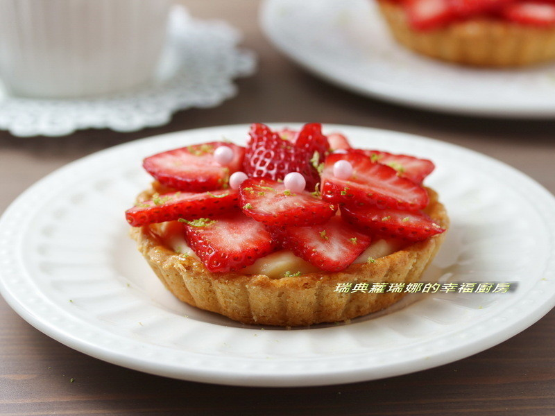 冬季公主系甜點~草莓塔