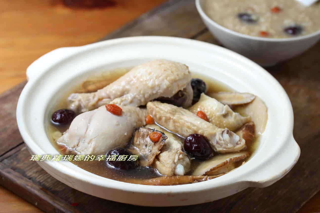 補氣養肝增強抵抗力~紅棗糙米雞湯