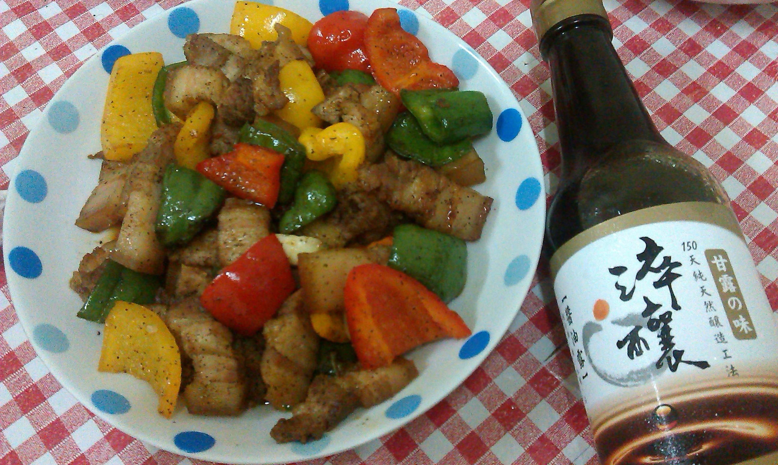 黑胡椒鹹豬肉【淬釀年菜料理】