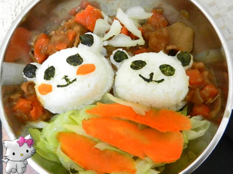 小熊 壽司咖哩便當