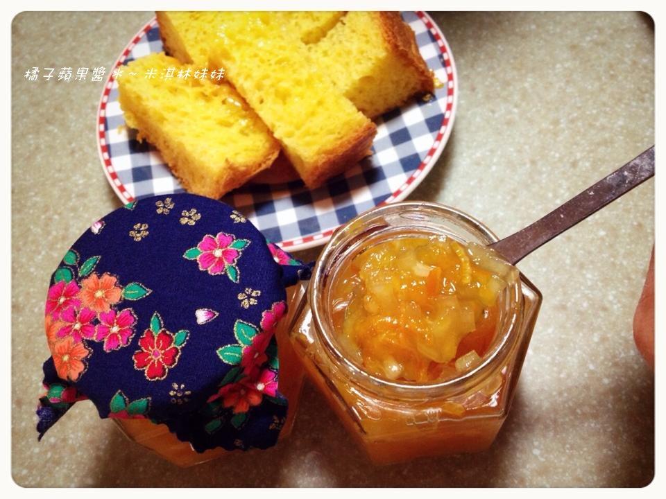 手工*~橘子蘋果醬