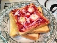 ❤ 新鮮草莓煉乳吐司❤ 簡單又好吃