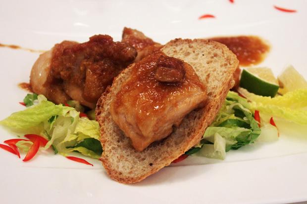 檸檬醬燒雞腿排(豆油伯純釀醬油食譜)