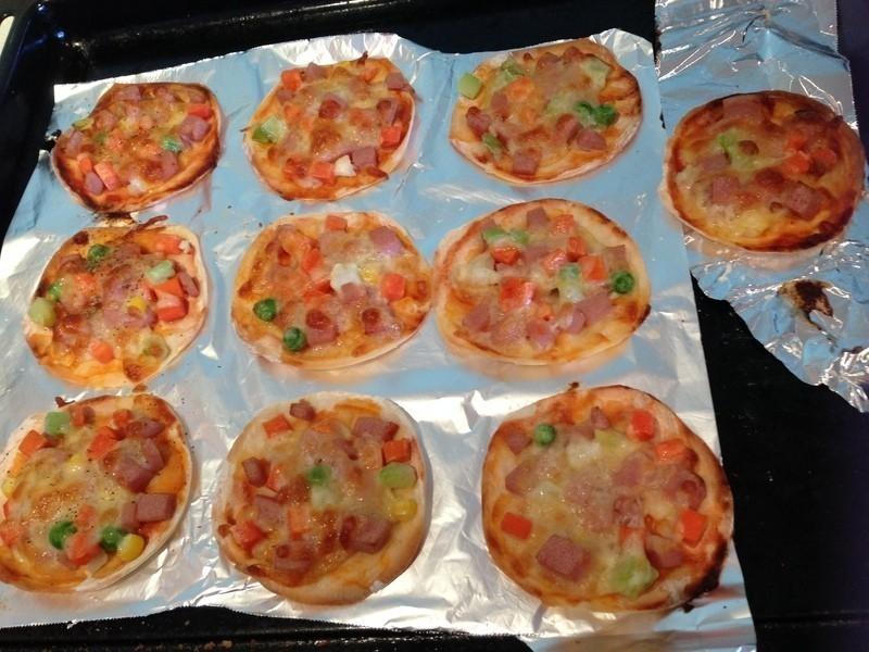 水餃皮Pizza
