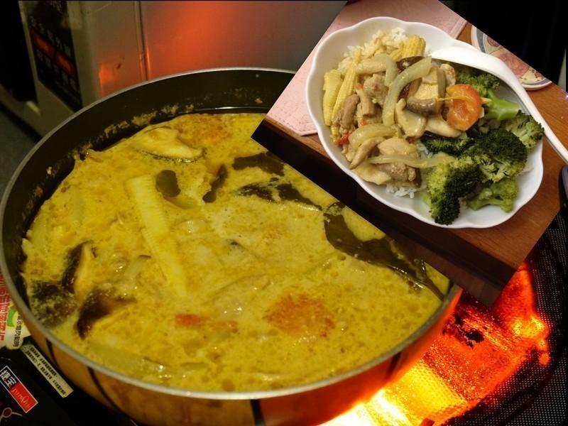 泰式綠咖哩
