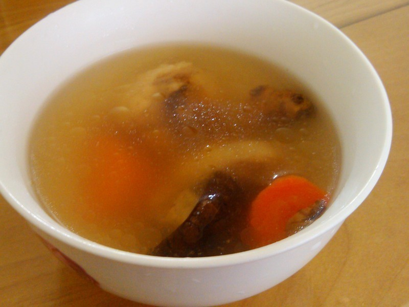 【阿努巴兜么】香菇雞湯