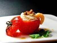 鮮蝦米線番茄盅