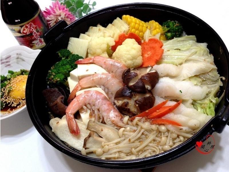 低卡養生壽喜鍋【穀盛壽喜燒】