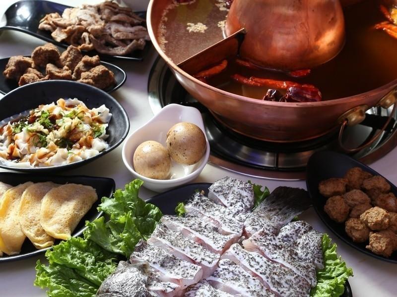 國產石斑鴛鴦鍋