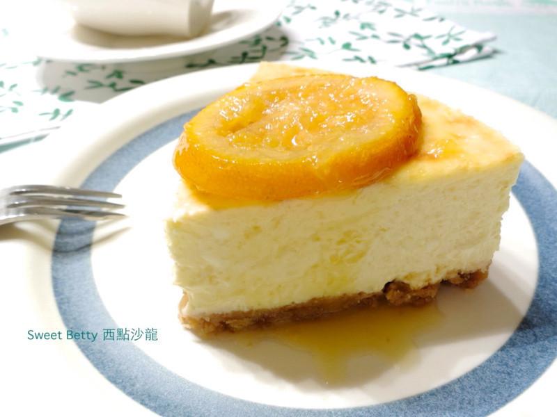 橙香起司蛋糕