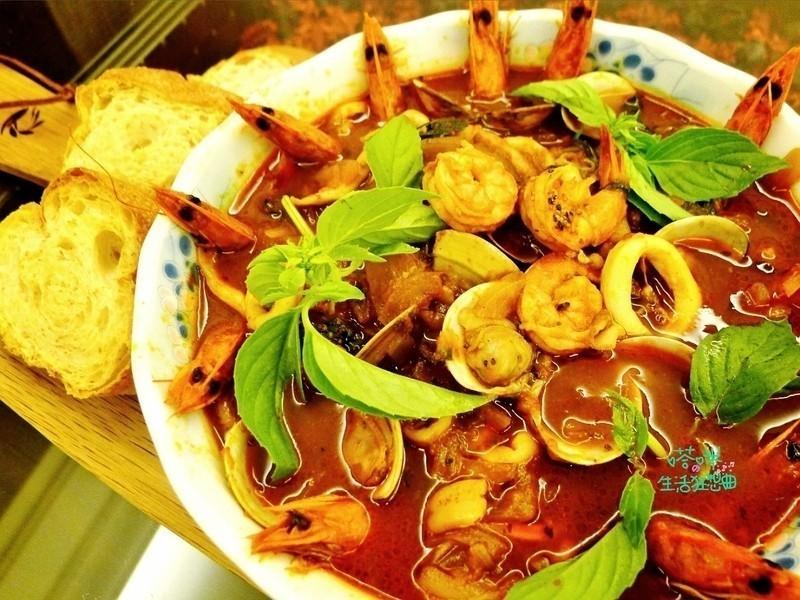 義式風味海鮮湯【可果美蕃茄鍋高湯】