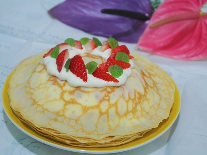 草莓法式千層薄餅✿樂扣樂扣