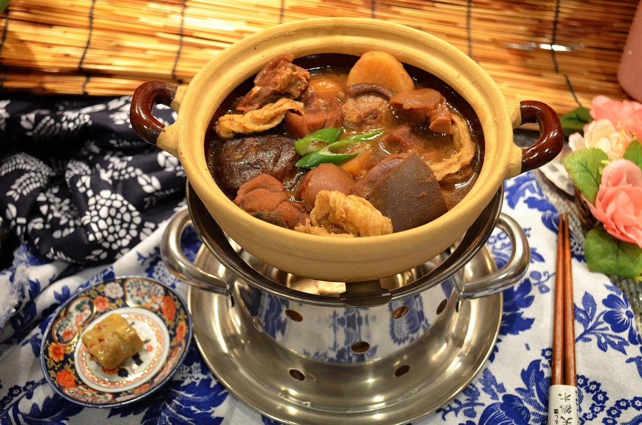 南乳腐竹羊肉煲