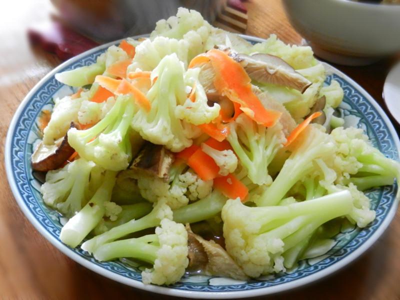 簡單料理花椰菜