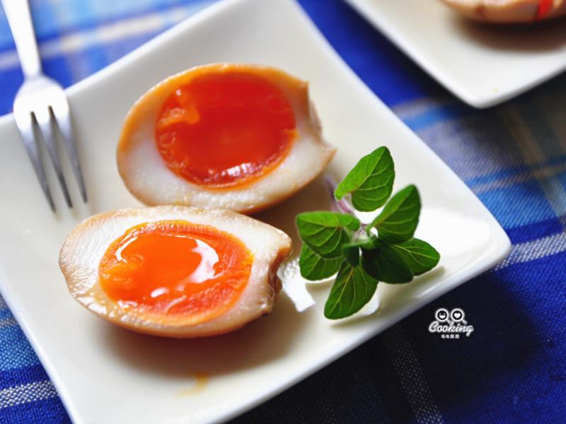 我與大同電鍋的美味料理-酒香桂花糖心蛋