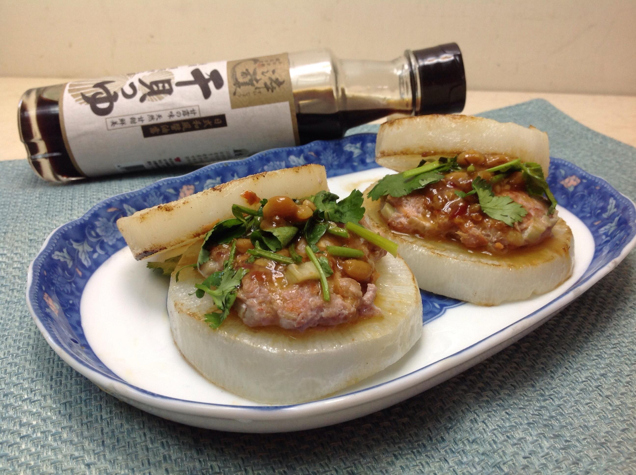 菜頭漢堡(淬釀年菜料理)