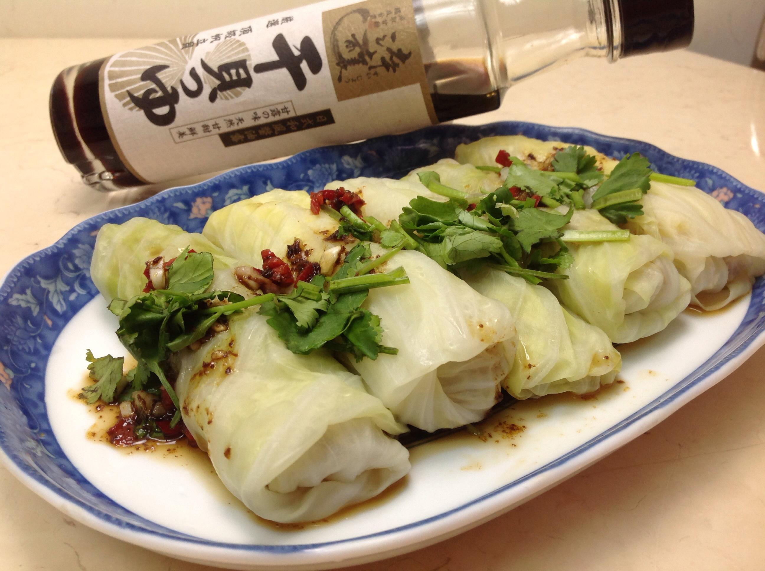 地瓜高麗菜捲(淬釀年菜料理)