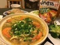 咖哩海鮮粉絲煲~可果美咖哩鍋