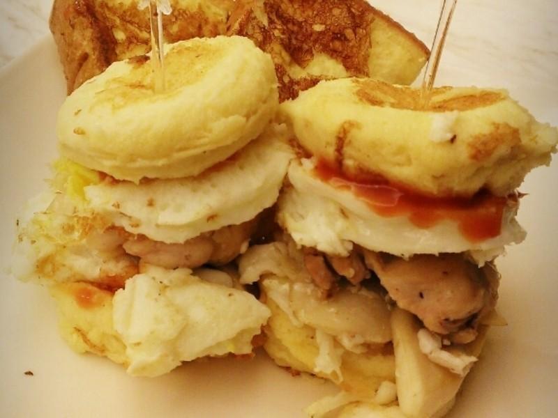 超萌法式吐司小蛋堡♥附加法式蛋液布丁