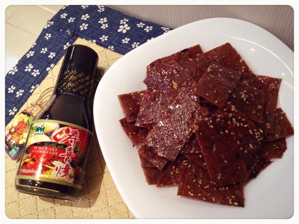 蜜汁*鰹魚豬肉乾【穀盛壽喜燒】