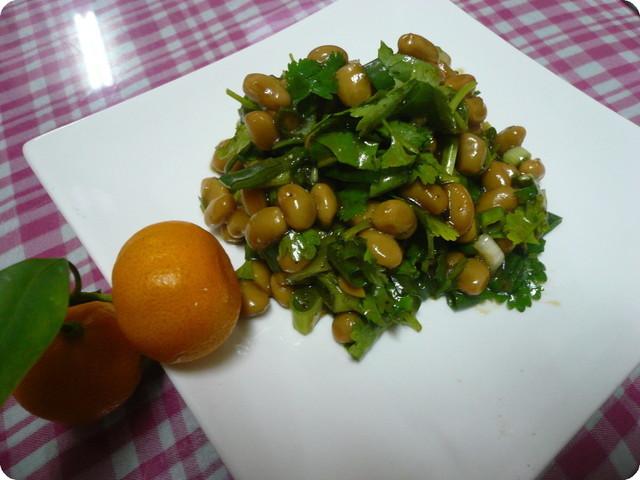 即食便利菜─涼拌有機熟成黃豆