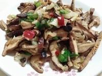 愛烹飪。蒜味椒鹽香菇