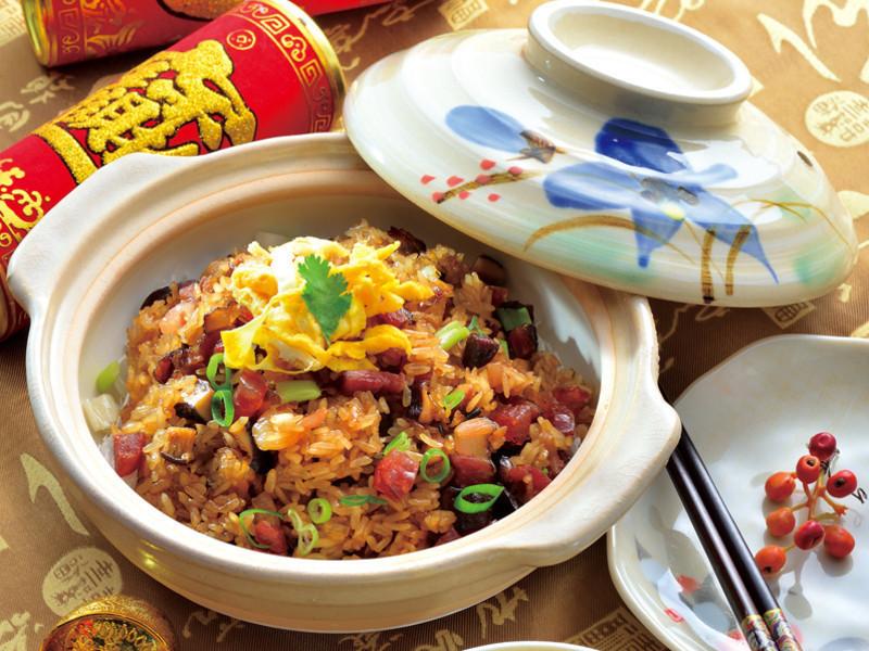 【豐味團圓年菜宴】臘味生炒糯米飯