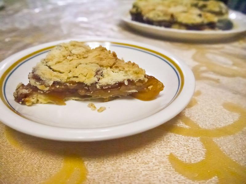 [魚食] 不可能失敗的黑糖蘋果奶酥