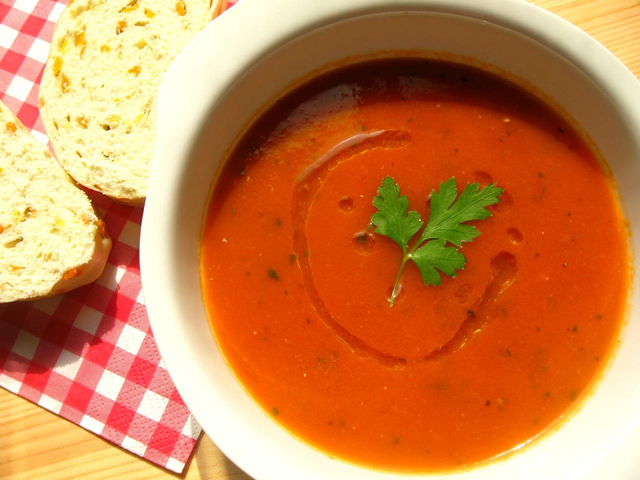 慢燉義式風味家常蕃茄湯