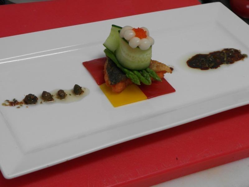 義式油醋鮭魚排