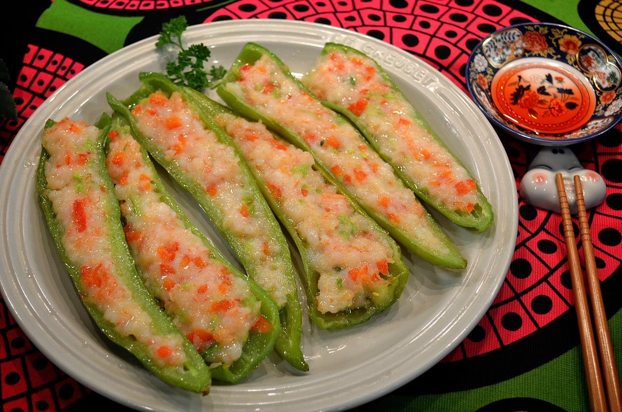 蝦肉釀青龍椒