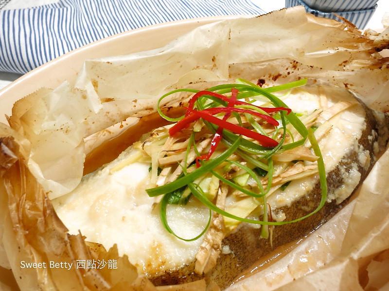紙包鹽麴烤鱈魚