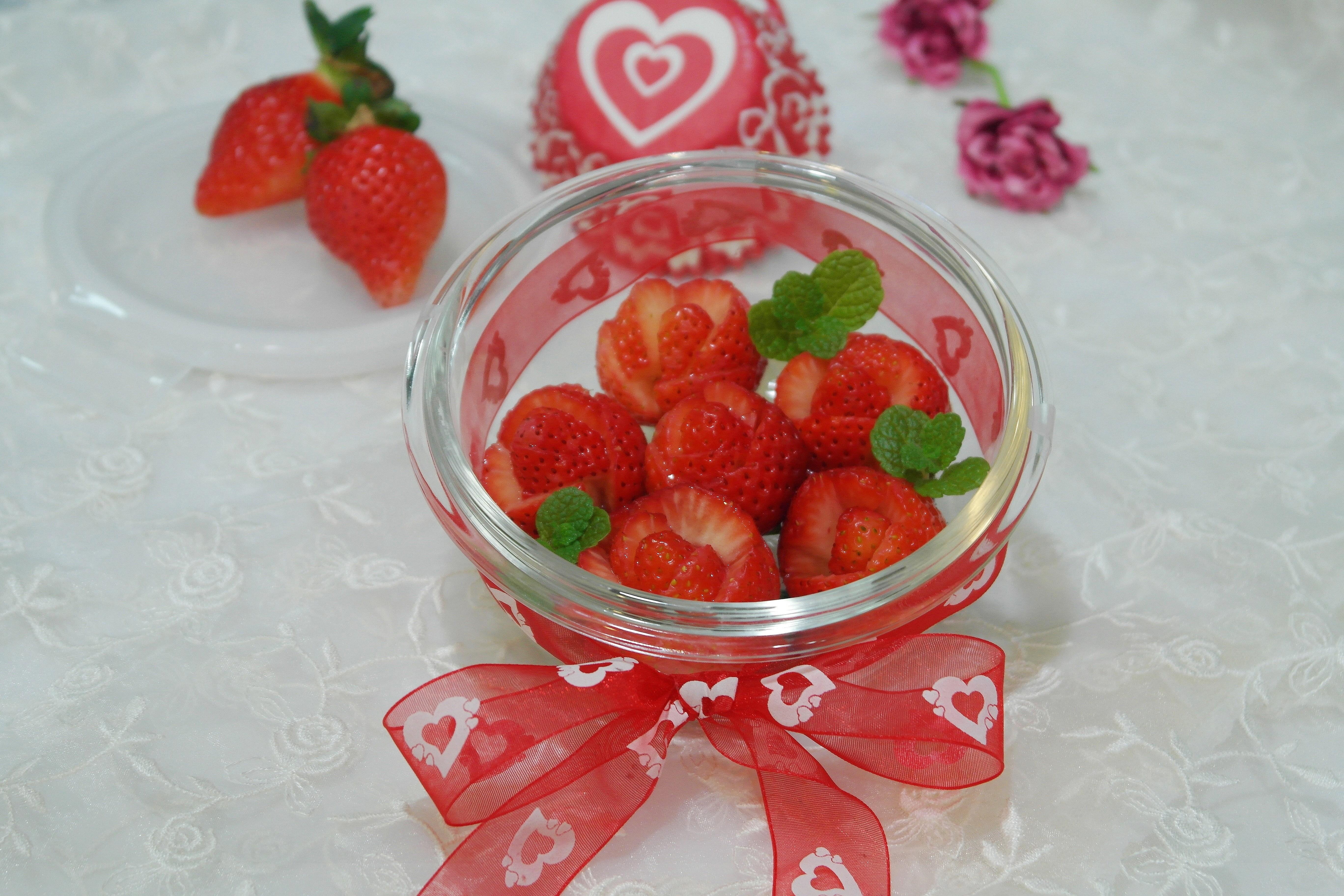 草莓玫瑰禮盒✿樂扣樂扣