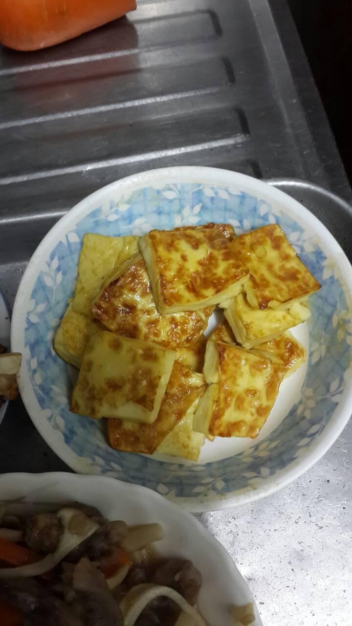 乾煎雞蛋豆腐|妮可小姐食驗室