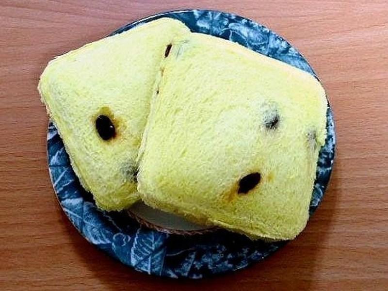 【上班族早餐】鮪魚玉米口袋葡萄吐司