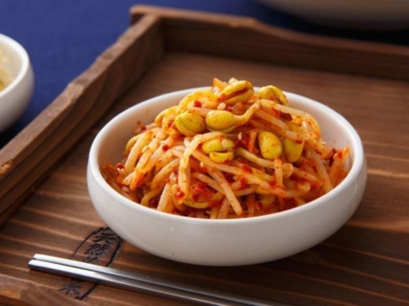 韓式小菜》涼拌黃豆芽(辣)