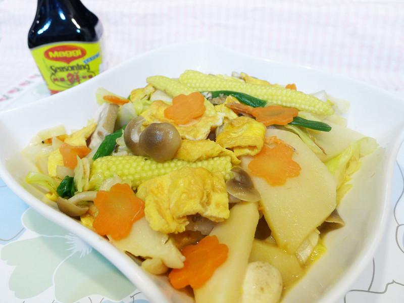 蛋香什蔬【美極鮮味露】
