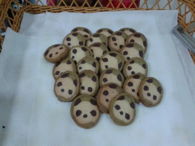 抹茶熊貓餅乾