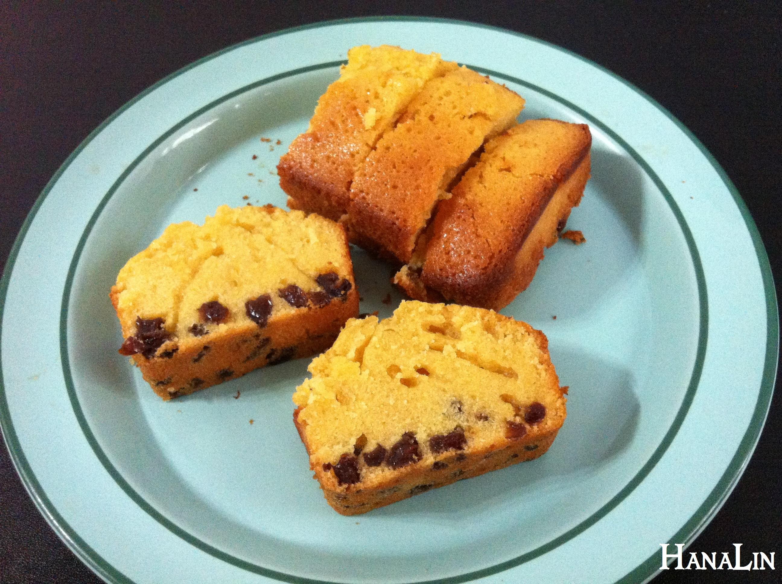 │漢娜愛吃甜│葡萄乾蜂蜜磅蛋糕