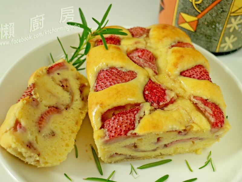 蛋糕兼麵包口感之『草莓蛋糕』