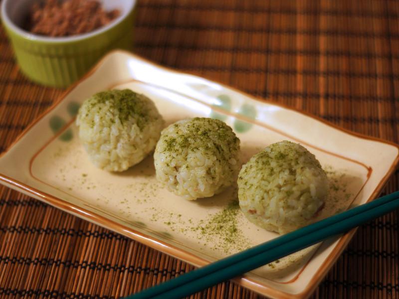 Mimi♥肉燥香椿飯糰【彩色營養米】