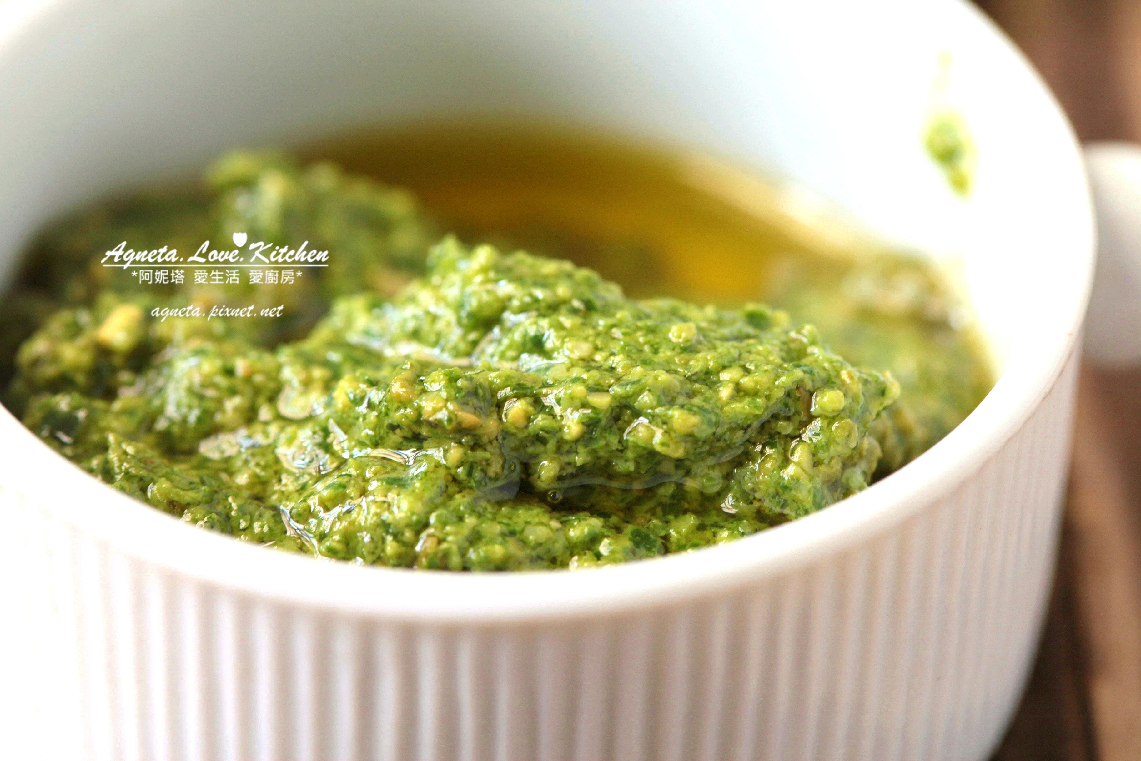 [阿妮塔♥yummy] 羅勒松子傳統青醬。