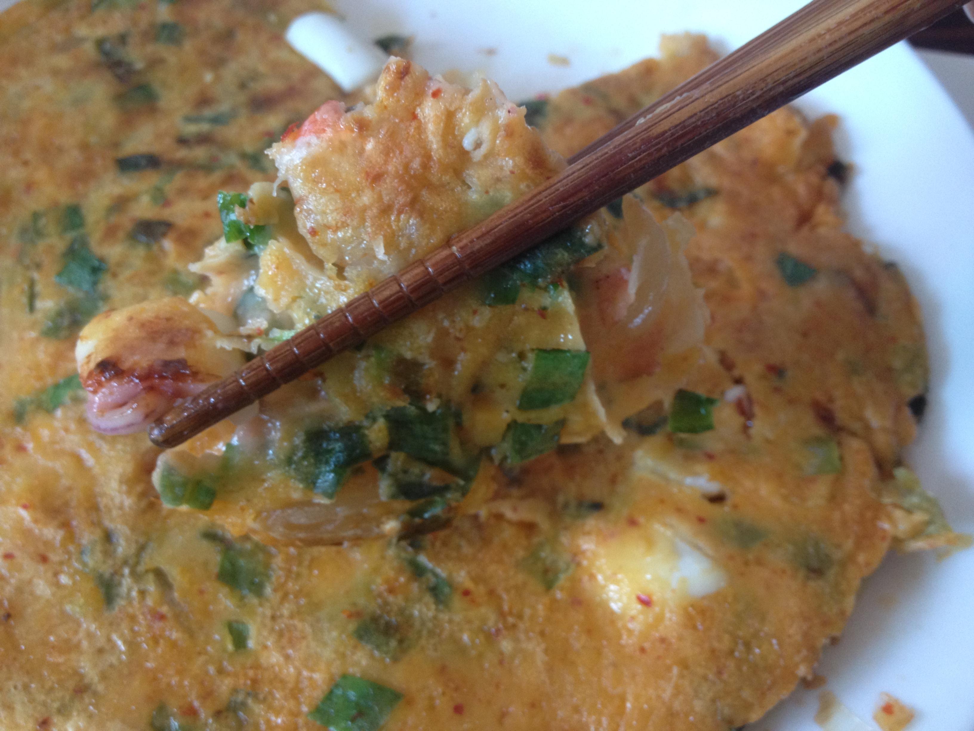 韓式泡菜海鮮煎餅