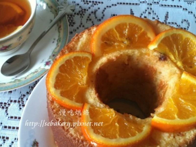 酸甜好滋味-柳橙戚風蛋糕
