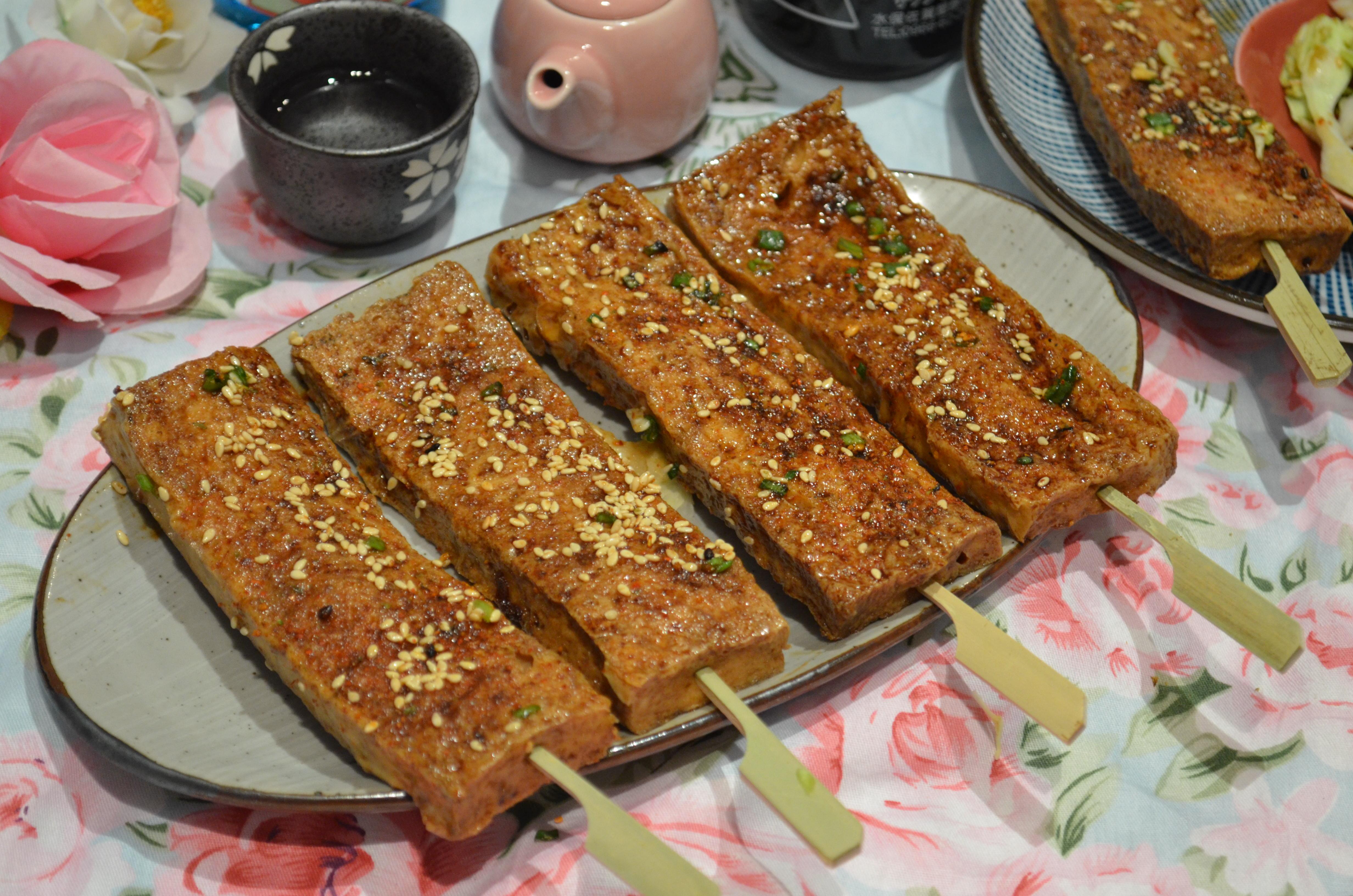 日式醬燒百頁豆腐