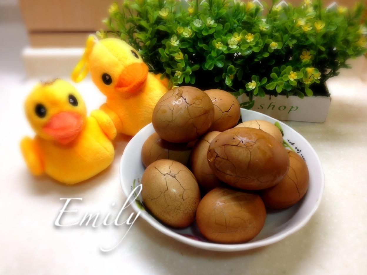 台灣味的茶葉蛋