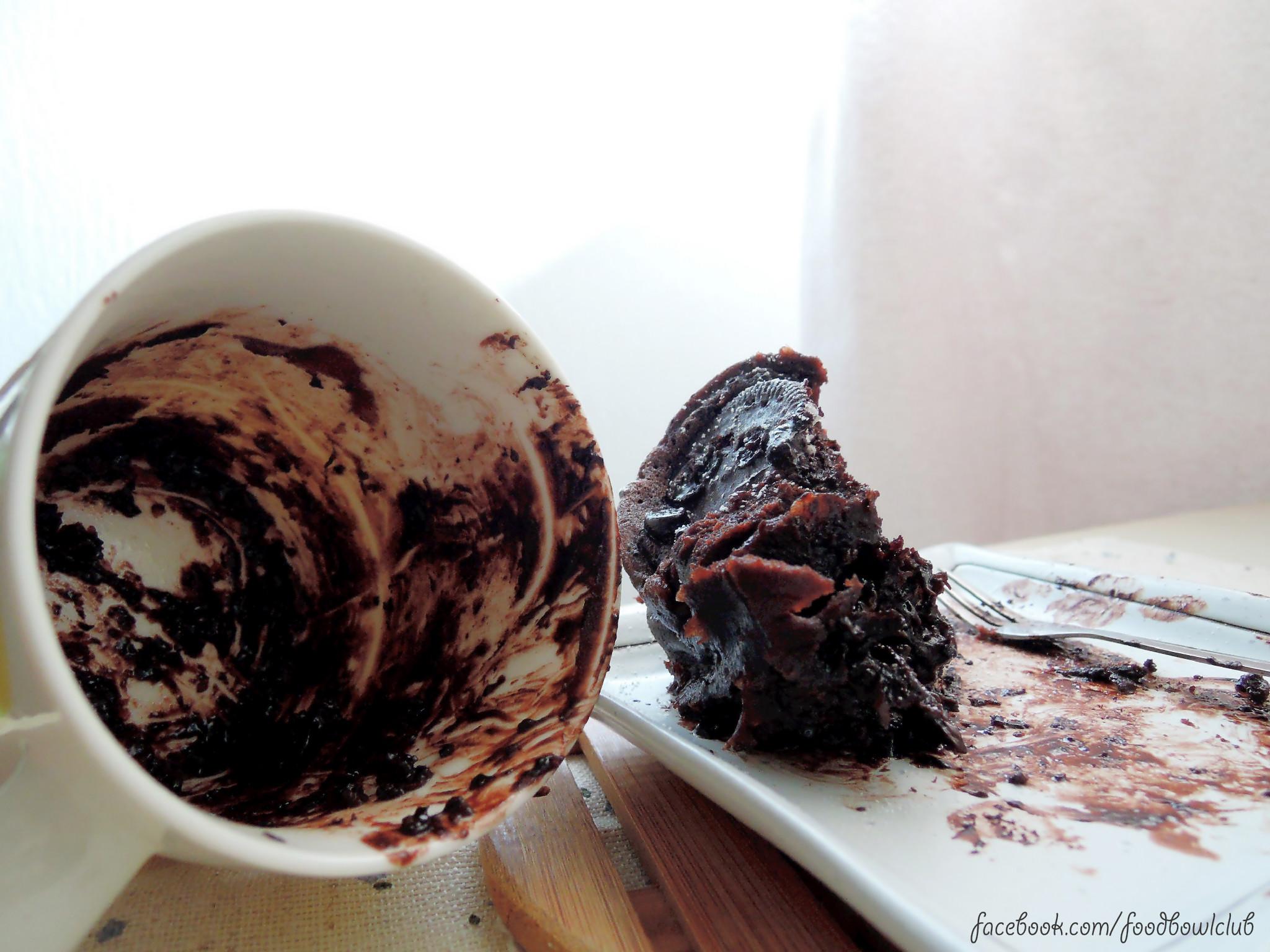 2分钟-微波炉巧克力杯子蛋糕