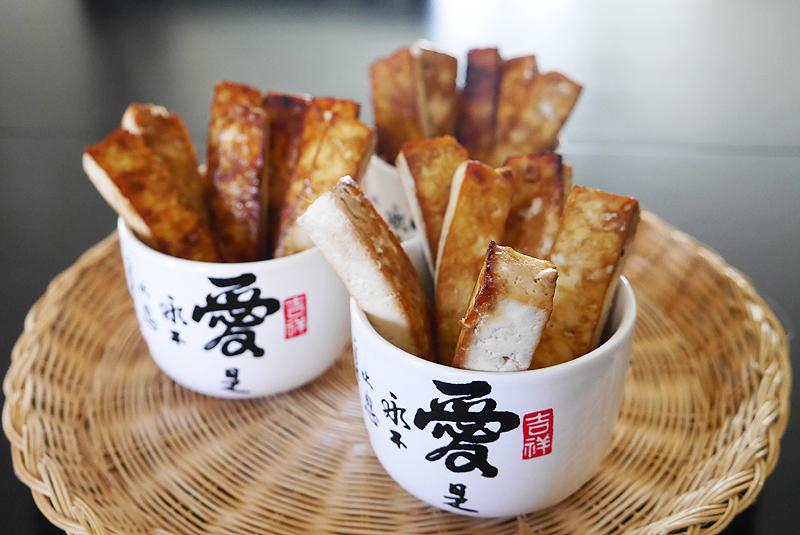 蒜味豆腐薯條 (烤箱版)