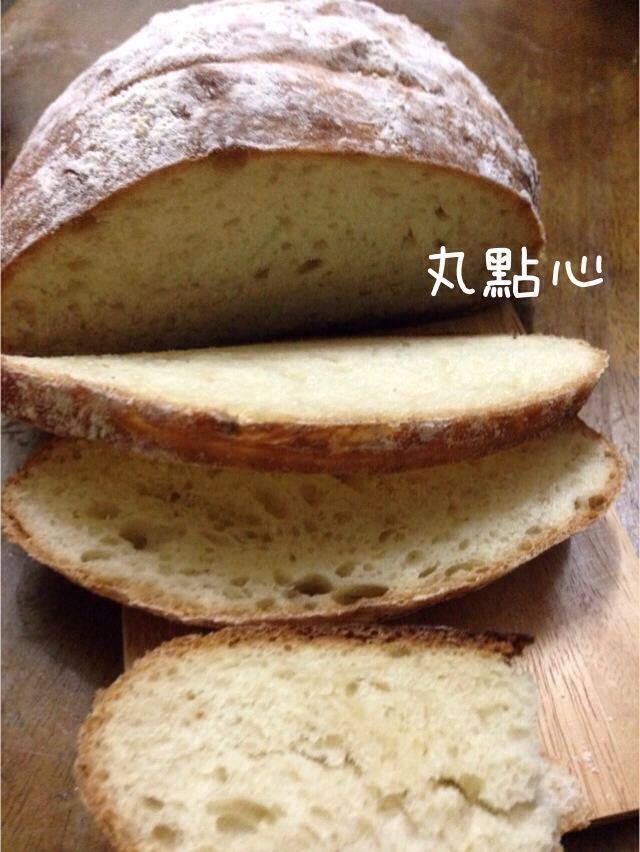 免揉基底麵包